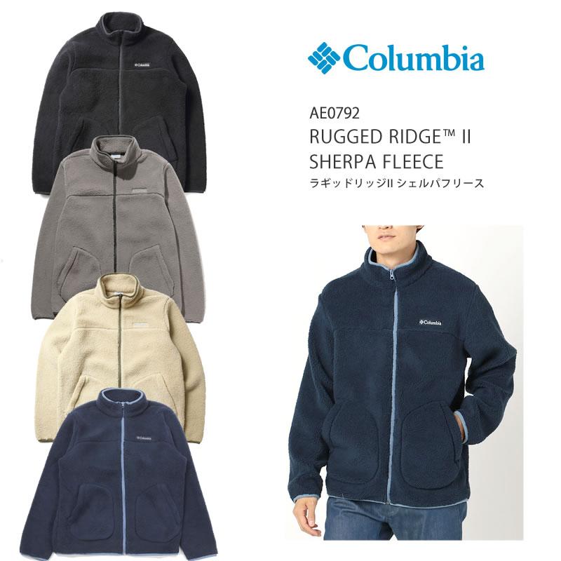 コロンビア ジャケット マウンテンパーカー COLUMBIA  AE0792 JACKET ラギット リッジ 2 シェルパ 起毛 ジャンパー