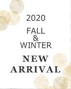 2020 AW 秋冬 新商品 NerArrival