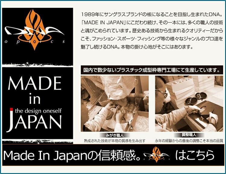 DNA、サングラス、国産、日本製、メイドインジャパン、made in Japan,