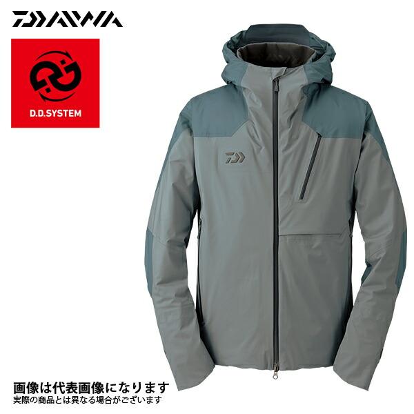 DW-2007J レインマックス ウィンタージャケット アーバングレー XL ダイワ 釣り 防寒着 2017秋冬モデル 防寒ウェア新モデルが30%オフ!
