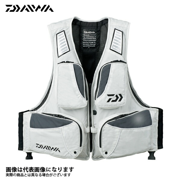 【ダイワ】DF-6307 ライトフローティングベスト ミスト Sフローティング ベスト