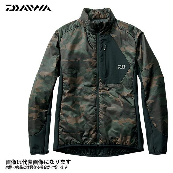 DJ-2407 プリマロフト インナージャケット カモ XL ダイワ 釣り 防寒着 2017秋冬モデル 防寒ウェア30%オフ!