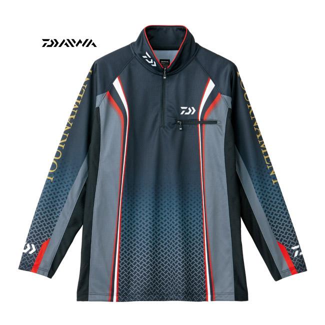 【ダイワ】トーナメント ドライシャツ ブラック 2XL ブラック [ DE-7406 ]ダイワ ウェア