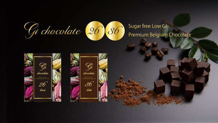 GI26&GI36(ダーク&ミルク)〔低GIチョコ〕【100%プレミアムベルギーチョコレート・チョコサプリ】[CNC]