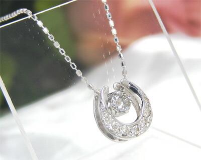 K10WG・ダイヤモンド・ネックレス