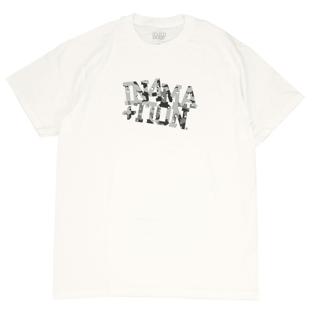 IN4MATION/インフォメーション 半袖 Tシャツ/D-STORM IN4-001-SP21