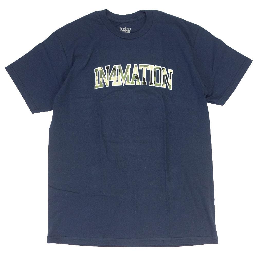 IN4MATION/インフォメーション 半袖 Tシャツ/BUSHWICK ARCH IN4-008-SP21