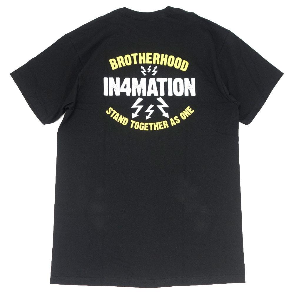 IN4MATION/インフォメーション 半袖 Tシャツ/BROTHERHOOD IN4-004-SP21