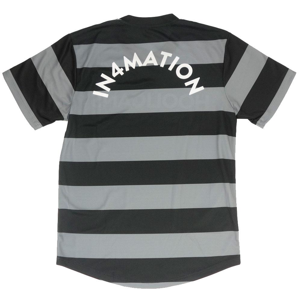 IN4MATION/インフォメーション 半袖 Tシャツ メッシュ Vネック/SHE DEVIL IN4-005-SP21