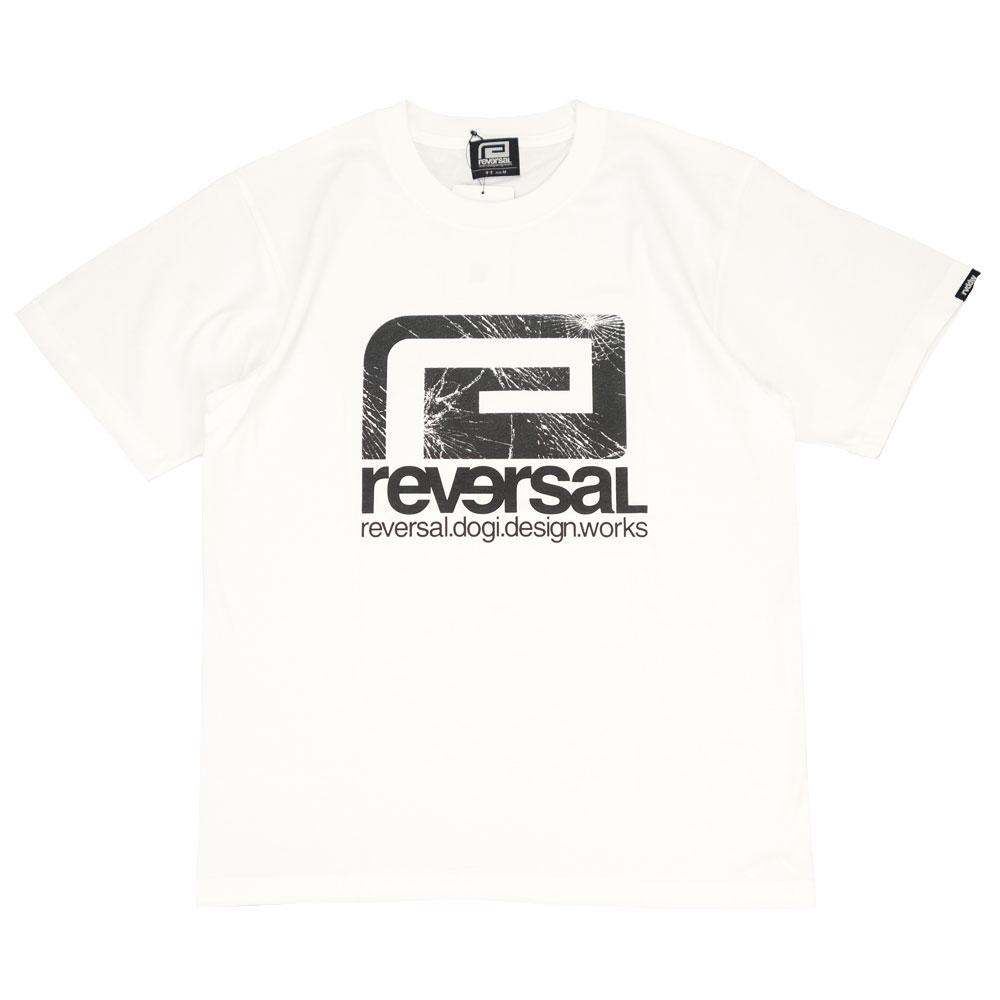 reversal/リバーサル 半袖Tシャツ ビッグマーク コットン/BREAKTHROUGH BIG MARK COTTON TEE rv21ss002