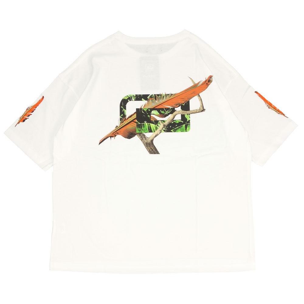 reversal/リバーサル 半袖Tシャツ ビッグシルエット/FEATHER BIG MARK BIG SILHOUETTE TEE rv21ss003