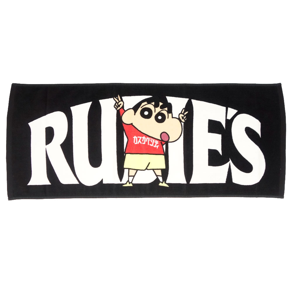 RUDIE'S/ルーディーズ クレヨンしんちゃん コラボ タオル rudies/RUDIE'S x CRAYON SHINCHAN PEACE TOWEL 85799 85800