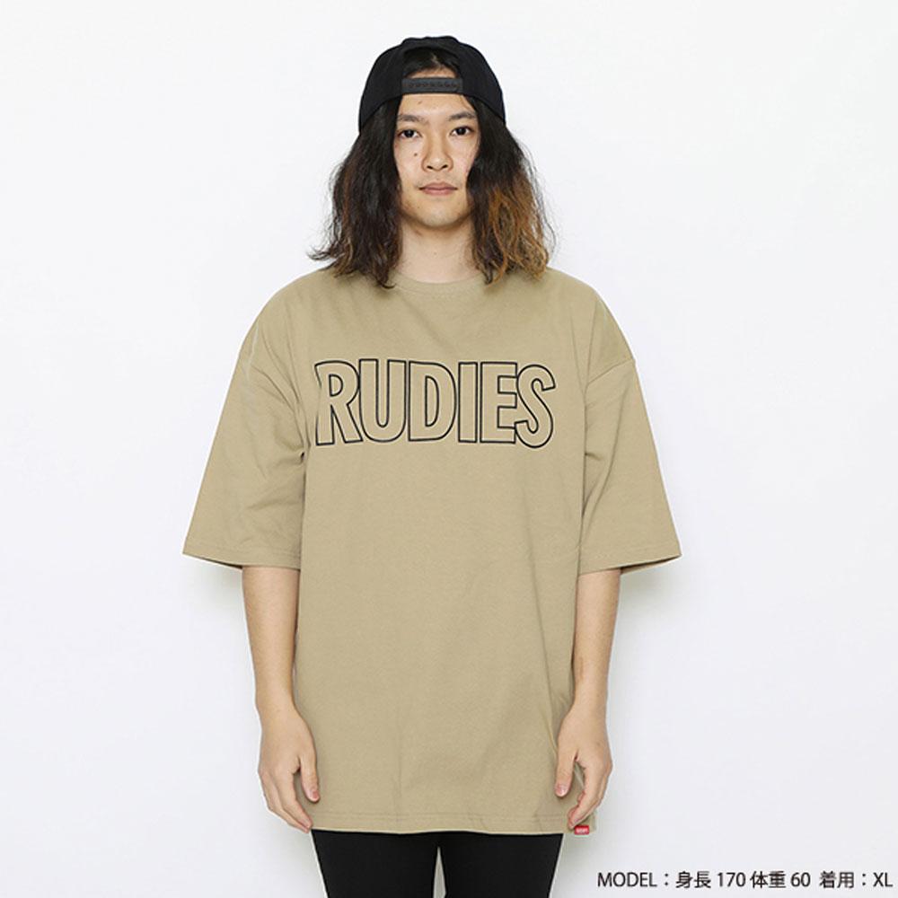 RUDIE'S/ルーディーズ 半袖Tシャツ ビッグシルエット rudies/PHAT BIGSILHOUETTE-T 85746 85747 85748
