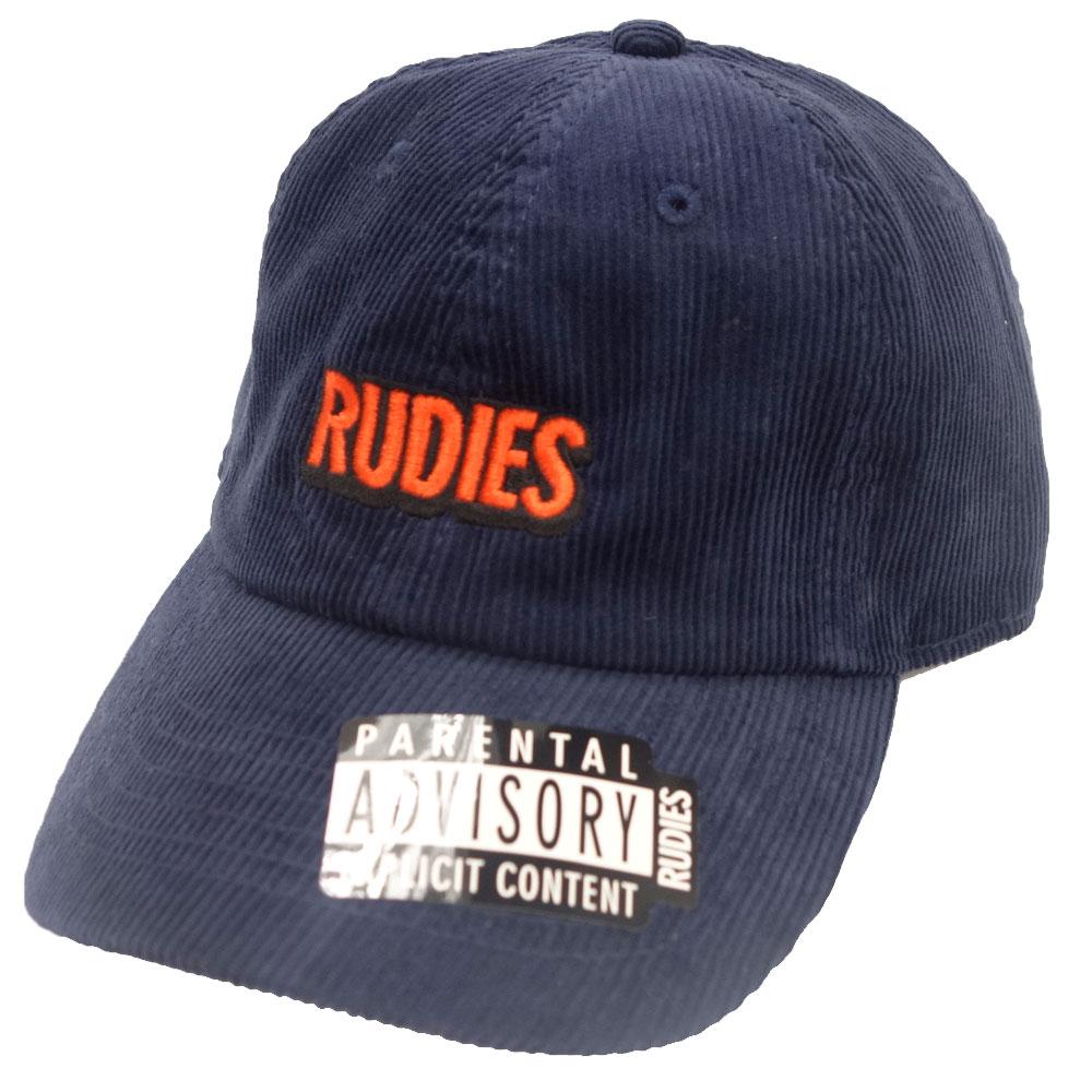 RUDIE'S/ルーディーズ コーデュロイ パネルキャップ 帽子 rudies/SOLID PHAT PANELCAP