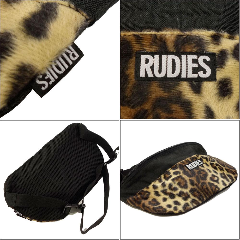 RUDIE'S/ルーディーズ ウエストバッグ ボディバッグ/LEOPARD WAIST-BAG