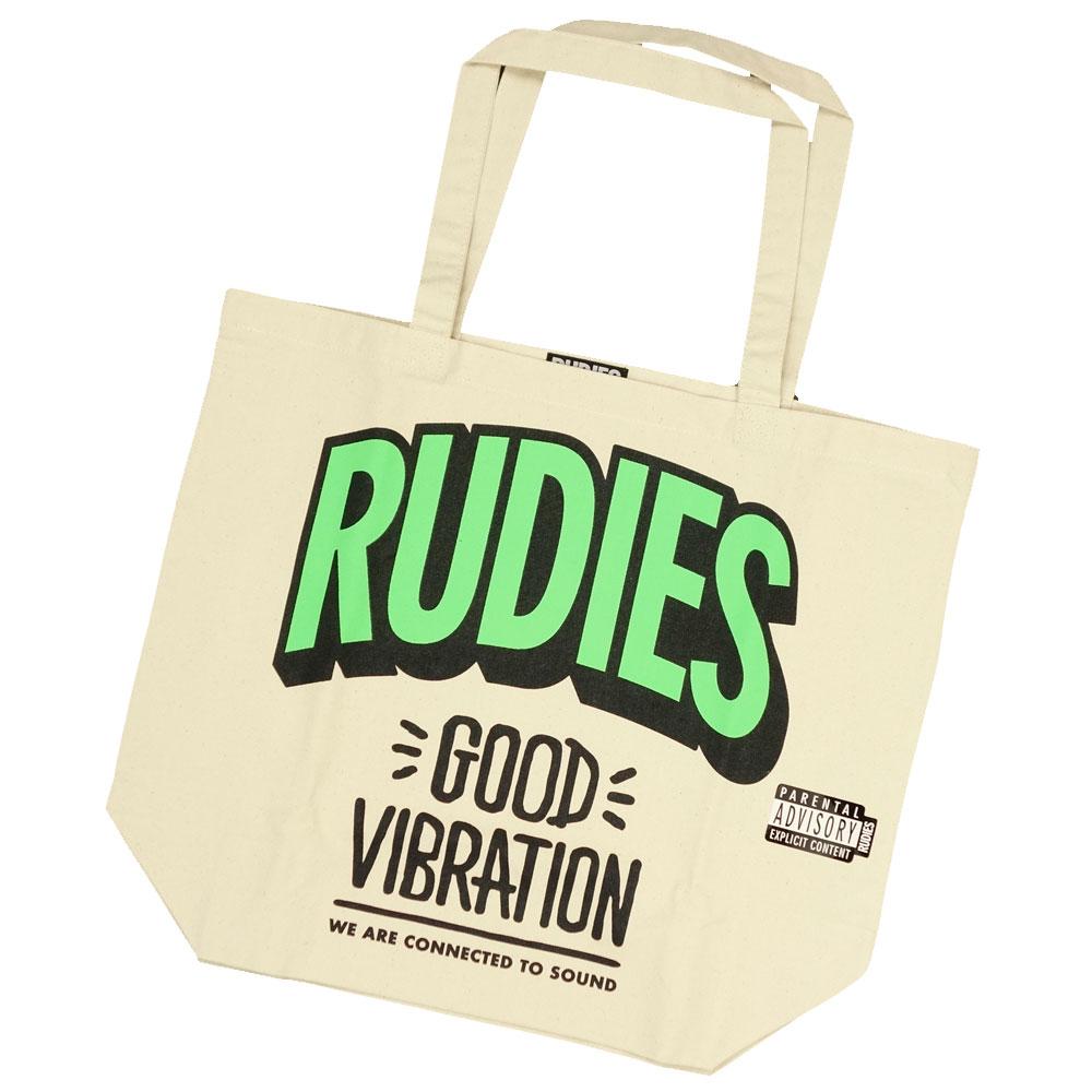 RUDIE'S/ルーディーズ トートバッグ エコバッグ/GOOD VIBRATION ECOBAG