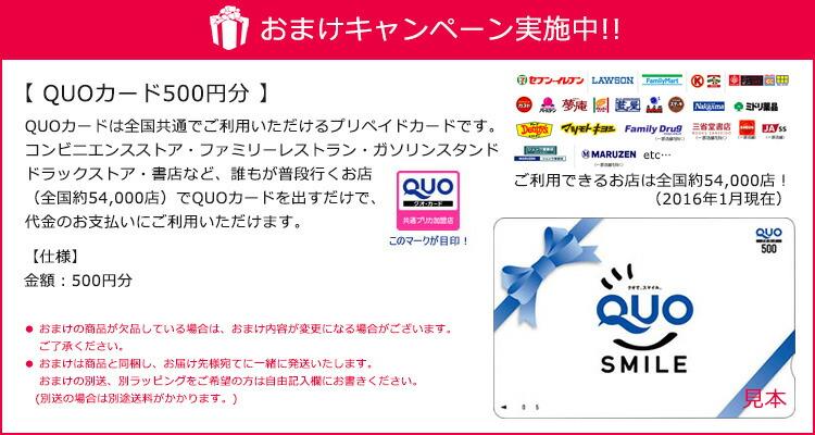 QUO500円分