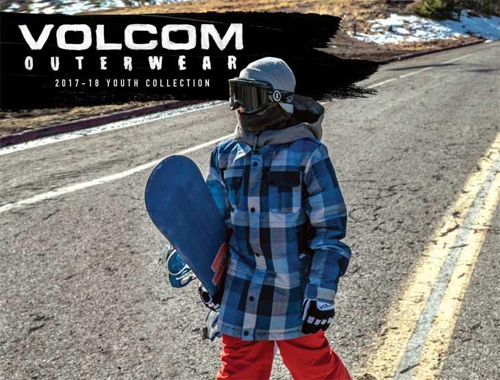 フリース キッズ ジップアップ スノーボード 【Grohman Fleece 】 17-18 VOLCOM ボルコム Newモデル 日本正規品 パーカー