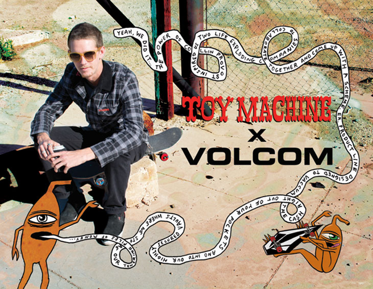 TOY MACHINE x VOLCOM