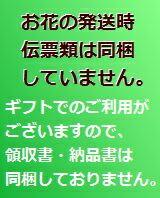 新宿四谷 花屋シャムロック 楽天市場店の領収書