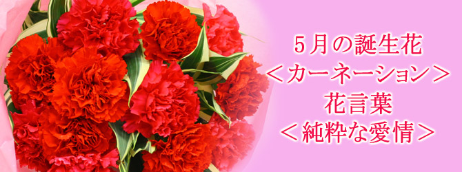 lovely 今月の誕生花