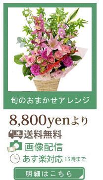 旬おまかせ花8400【送料無料】