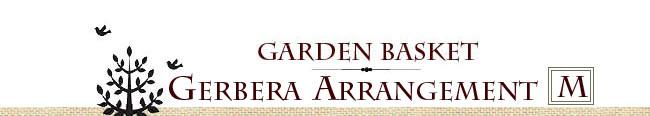 ガーデンガーベラバスケット