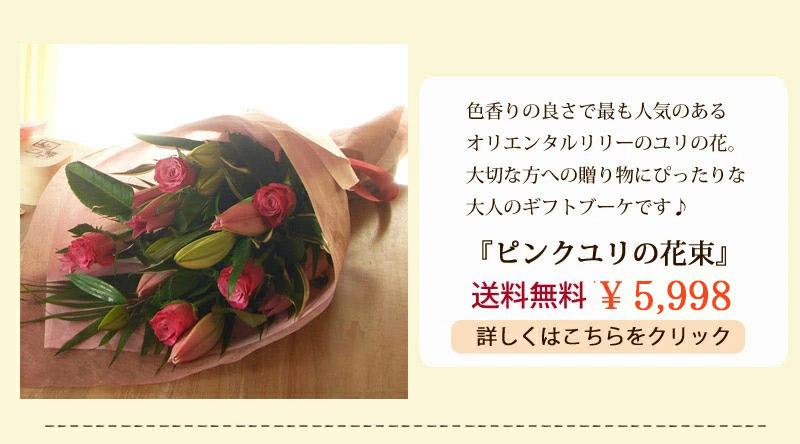 ピンクユリ5500