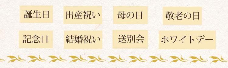 送別会・ホワイトデー