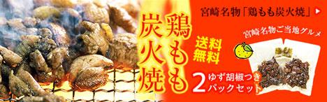 鶏もも炭火焼2パック送料無料