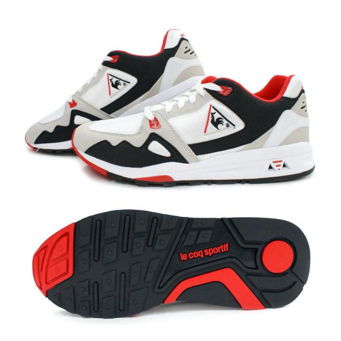 6f3f036b419f FOOTMONKEY  Lecoq sneakers le coq sportif LCS R 1000 QMT-6102WB WBR ...