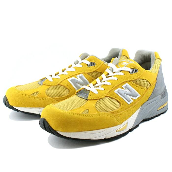 7424bdedb0bd94 men s sneaker newbalance for the New Balance 991 sneakers ━ Made in UK ━ NEW  BALANCE M991 YLW (yellow) running shoes men sneakers man