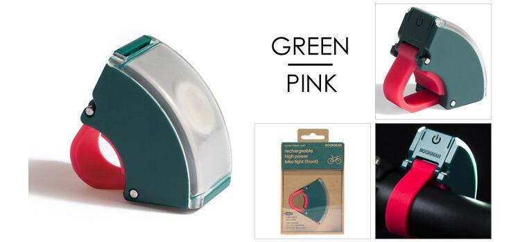 グリーンXピンク
