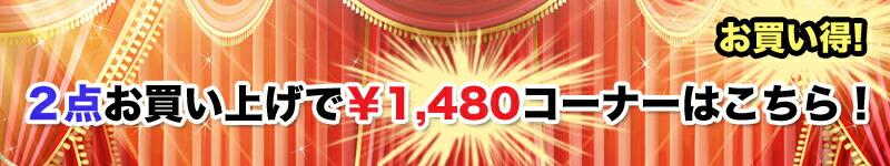 2点で1480円