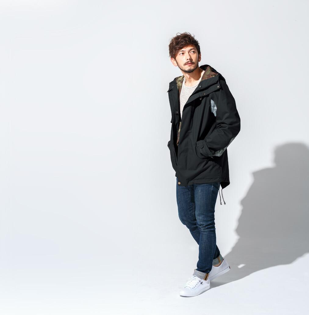 Mods coat ジャケット Black 画像1