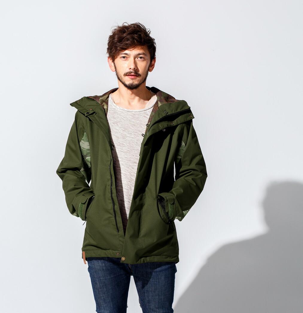 Mods coat ジャケット Khaki 画像2