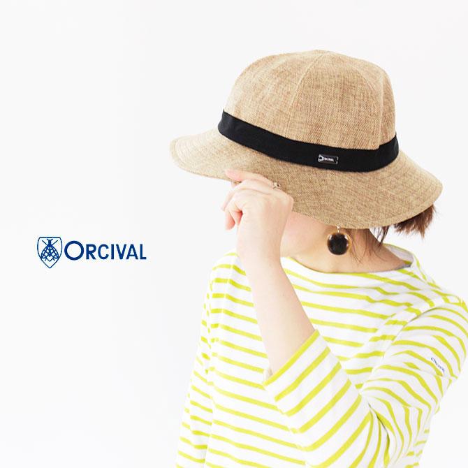 7f68a5737a7b8d HAT RLP ラフィア調ハット [ORCIVAL]オーチバル・オーシバル RAFFIA ...