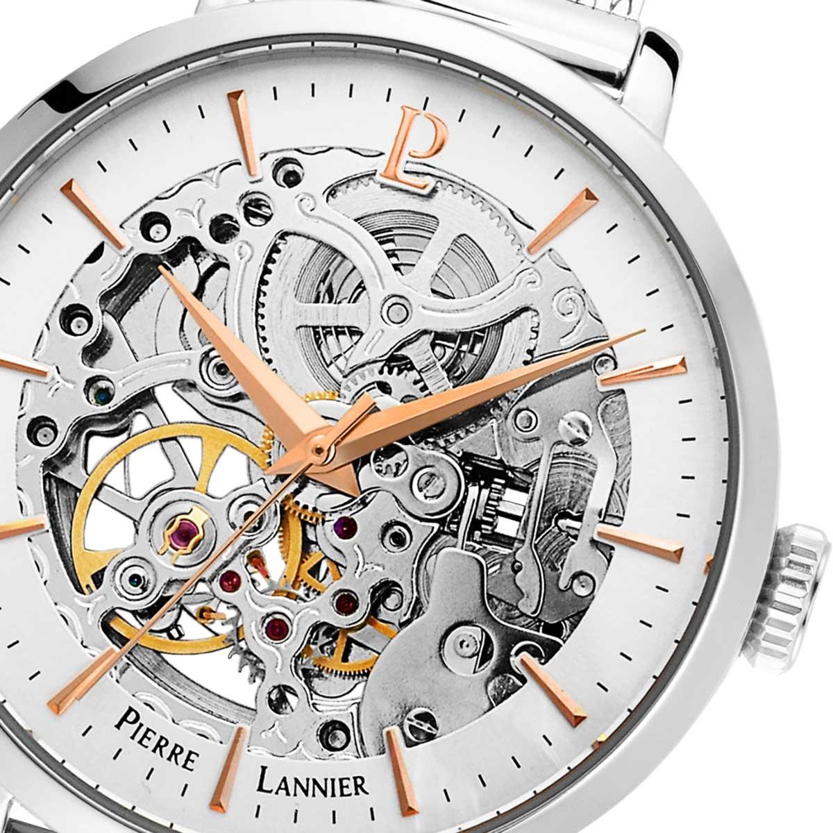ピエールラニエ レディース腕時計 オートマティック 機械式 ウォッチ 腕時計 楽天
