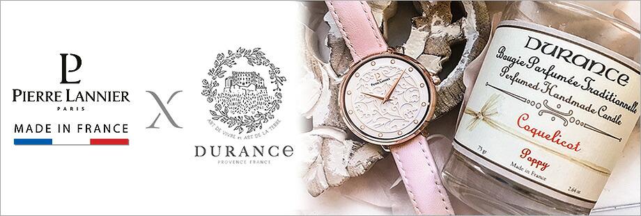 エオリア デュランスコラボ ラウンド レディース腕時計ピエールラニエ ギフト プレゼント 名入れ