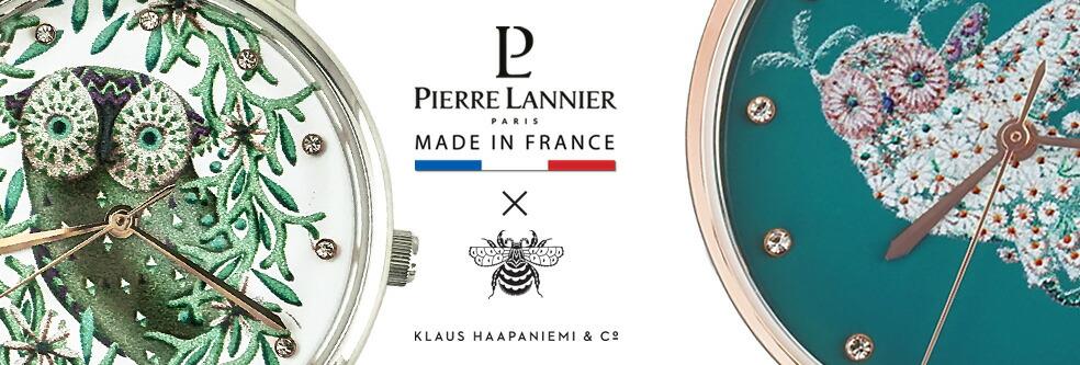 エオリア クラウス・ハーパニエミ コラボラウンド レディース腕時計ピエールラニエ ギフト プレゼント 名入れ