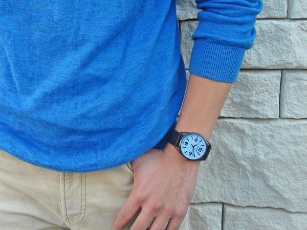 ピエールラニエ 名入れメンズ腕時計