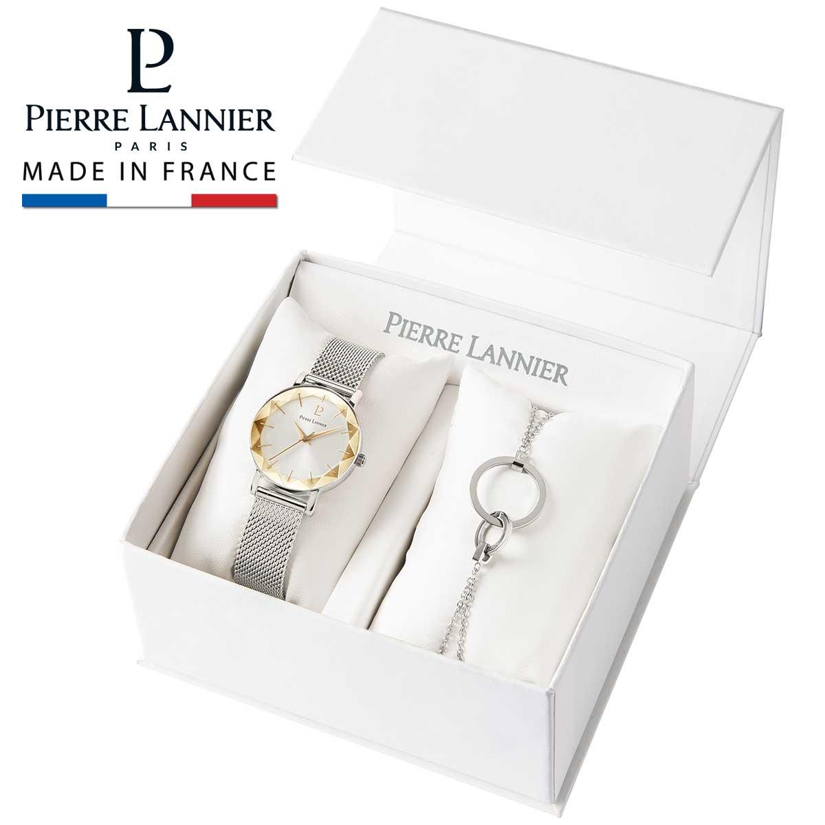 レディース 腕時計 ブランド ピエールラニエ 母の日 プレゼント ギフト カットガラス マルチプル