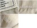縫製のずれ、糸の重なり、汚れのように見えるシワ、繊維の塊