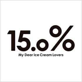 15.0パーセント/15.0%
