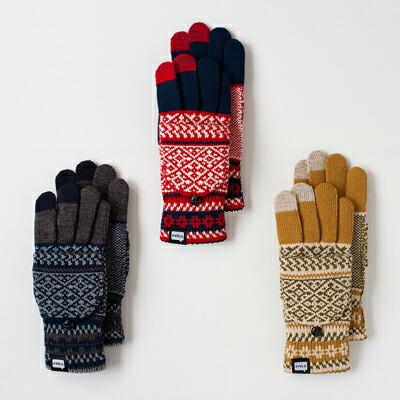 ットタッチパネル ニット手袋(エヴォログ) MIT Touch Panel Knit Gloves(EVOLG)
