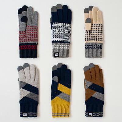 タッチパネル ニット手袋(エヴォログ) Touch Panel Knit Gloves(EVOLG)
