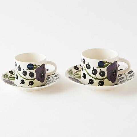 パラティッシ パープル カップ&ソーサー(アラビア) Paratiisi Purple Cup & Saucer(ARABIA)