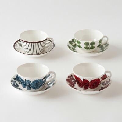 ティーカップ&ソーサー(グスタフスベリ) Tea Cup&Saucer(Gustavsberg)