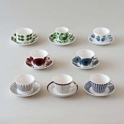 コーヒー カップ&ソーサー(グスタフスベリ) Coffee cup and saucer(GUSTAVSBERG)