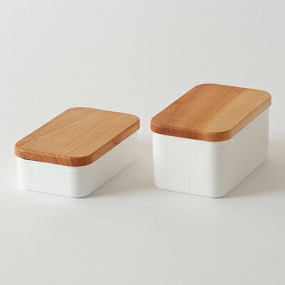 バターケース(野田琺瑯) Butter Case(noda horo)